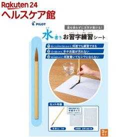 水書きお習字練習シート MSN-100P(1セット)【パイロット】
