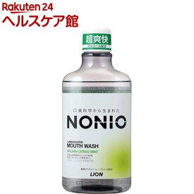 ノニオ マウスウォッシュ スプラッシュシトラスミント(600ml)【ノニオ(NONIO)】