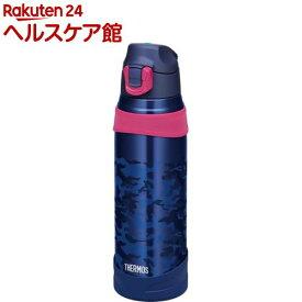 サーモス 水筒 真空断熱スポーツボトル ネイビーカモフラージュ FHQ-1001(1コ入)【サーモス(THERMOS)】
