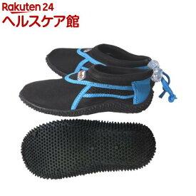 タスマニアサーフ マリンシューズ TS-7851 ブラック*ブルー 18-19cm(1足)【タスマニアサーフ】