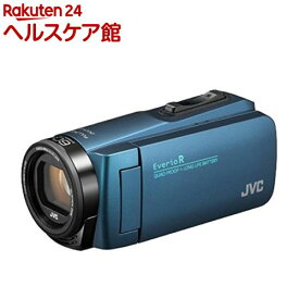 JVC Everio R ハイビジョンメモリームービー GZ-R480-A ネイビーブルー(1台)【JVC】