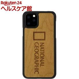 ナショナル ジオグラフィック iPhone 11 Pro Nature Wood チェリーウッド(1個)【National Geographic(ナショナル ジオグラフィック)】