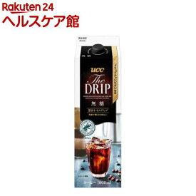 UCC ザ・ドリップ 無糖 GT(1L*12本入)【UCC】
