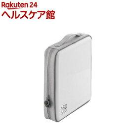 エレコム CD/DVDファスナーケース CCD-H160WH(1コ入)【エレコム(ELECOM)】