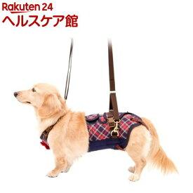 歩行補助ハーネスLaLaWalk 小型犬・ダックス用 チェックカーニバル S(1個)