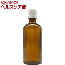 アロマアンドライフ Kシリーズ KENSO褐色ボトルガラス 100ml 白バージンキャップ 3本(1セット)【アロマアンドライフ】