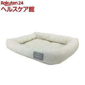 ペットプロ シンプルパピーベッド ホワイト(1個)【ペットプロ(PetPro)】