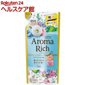 ソフラン アロマリッチ 柔軟剤 サラ 詰め替え(400ml)【ソフラン】