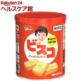 ビスコ 保存缶(5枚*6パック)【spts14】【ビスコ】[防災グッズ 非常食]