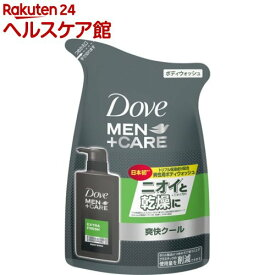 ダヴ メン+ケア ボディウォッシュ エクストラフレッシュ つめかえ用(320g)【more30】【ダヴ(Dove)】