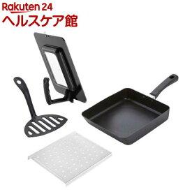 貝印 冷食活用!オールインワン四角いフライパンセット RC5002(1セット)【貝印】