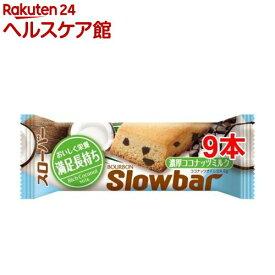 ブルボン スローバー 濃厚ココナッツミルク(41g*9コ)【スローバー】