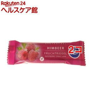 ルブス オーガニックフルーツバー ラズベリー(30g*2コセット)【ルブス】
