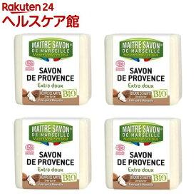 サボン・ド・マルセイユ マルセイユソープBIO シアバター(100g*4個入)【サボン・ド・マルセイユ】