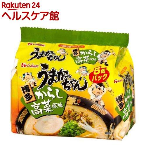 うまかっちゃん 博多からし高菜風味(5コ入パック)【うまかっちゃん】