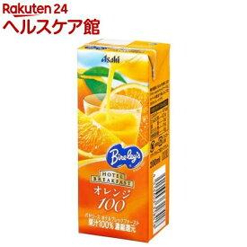 バヤリース ホテルブレックファースト オレンジ100(200mL*24本入)【バヤリース】