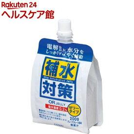 五洲薬品 補水対策 OR JELLY(200g*6袋入)