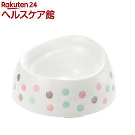 リッチェル 食べやすい ドッグディッシュ S深型 ホワイト(1コ入)【リッチェル(ペット)】