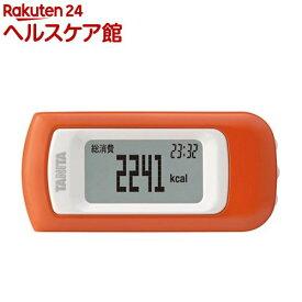 タニタ 活動量計 アプリコット EZ-064-OR(1台)【タニタ(TANITA)】