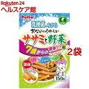 ペティオ おなかにうれしい ササミと野菜 7歳からの健康ケア(150g*2コセット)【ペティオ(Petio)】