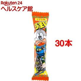 うまい棒 サラミ味(1本入*30コセット)