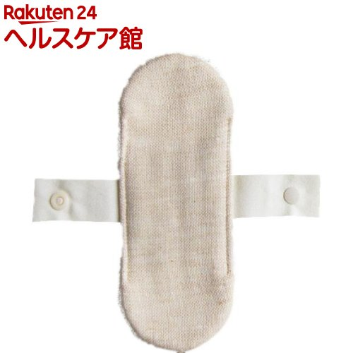 メイドインアース リトル布ナプキン ガーゼ 茶*パイル キナリ(1枚入)【メイドインアース】