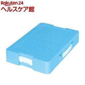 お道具箱 つながるパッチン!おどうぐばこ 手さげ付き A4 ブルー 041440(1個)【デビカ】