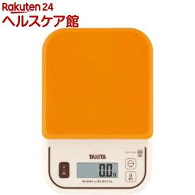 タニタ デジタルクッキングスケール KJ-111S-OR(1コ入)【タニタ(TANITA)】