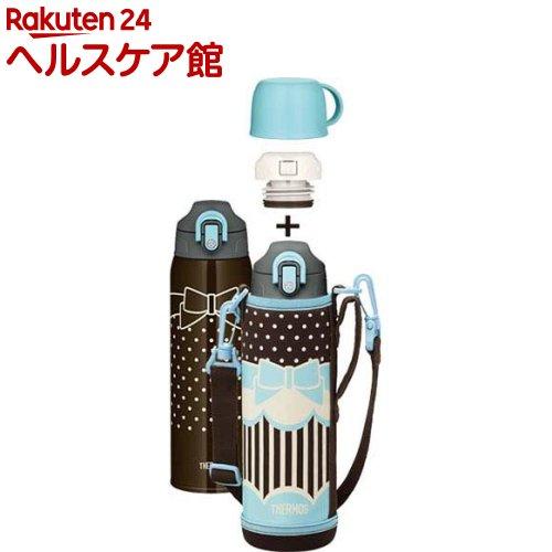 サーモス 真空断熱2ウェイボトル FHO-1000WF RBBL リボンブルー(1コ入)【サーモス(THERMOS)】