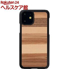 マン&ウッド iPhone 11 天然木ケース Sabbia I16841i61R(1個)【マン&ウッド(Man&Wood)】