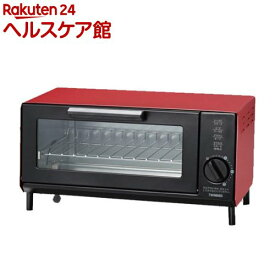 ツインバード ロースタイルオーブントースター TS-4034R レッド(1台)【ツインバード(TWINBIRD)】