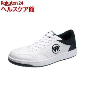 アサヒ ウィンブルドン 037 ホワイト/ブラック 21.0cm(1足)【ウィンブルドン(WIMBLEDON)】