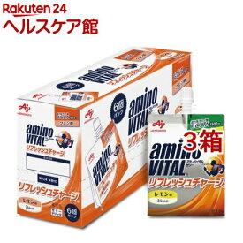 アミノバイタル ゼリー リフレッシュチャージ(180g*6コ入*3コセット)【アミノバイタル(AMINO VITAL)】
