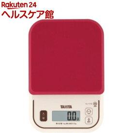 タニタ デジタルクッキングスケール KJ-111S-RD(1コ入)【タニタ(TANITA)】