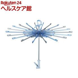 ポーリッシュ 華麗なパラソルハンガー サックスブルー PL-04(1コ入)【天馬】