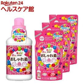 ボールド 香りのおしゃれ着洗剤 本体+つめかえ用*3コセット(1セット)【ボールド】[ボールド 詰め替え]