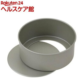 貝印 ちょうどいい食べきりサイズのホールケーキ型 底取式 12cm レシピ付 DL8010(1個)【貝印】