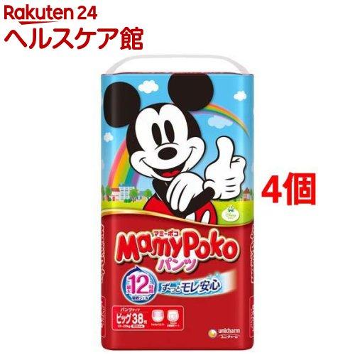 マミーポコ パンツ Bサイズ(38枚入*4コセット)【マミーポコ】