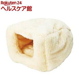 ペティオ やわらかベッド もぐりこみタイプ クリーム(1個)【ペティオ(Petio)】