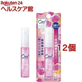 Ora2 オーラツーミー マウススプレー ジューシーピーチ(6ml*12個セット)【Ora2(オーラツー)】
