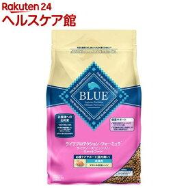 BLUE ライフP・フォーミュラ 成猫用 お腹ケアサポート(室内飼い) チキン&玄米レシピ(2kg)