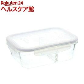 ロック&ロック ユーロ レクタンギュラー 950ml 仕切付(1コ入)【ベストコ】