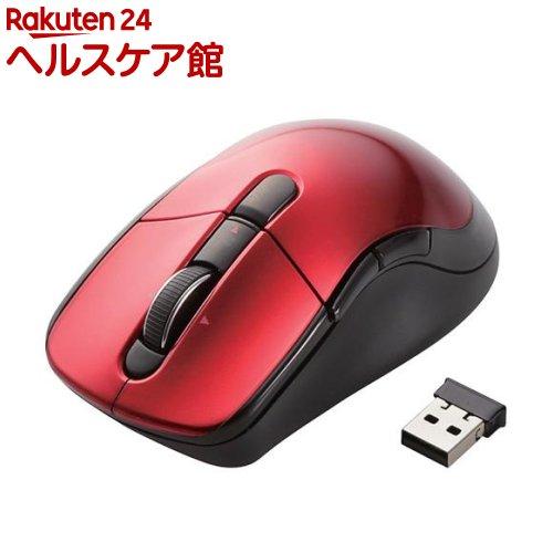 エレコム ワイヤレスレーザーマウス 高速スクロール・チルトホイール レッド M-LS16DL(1コ入)【エレコム(ELECOM)】【送料無料】