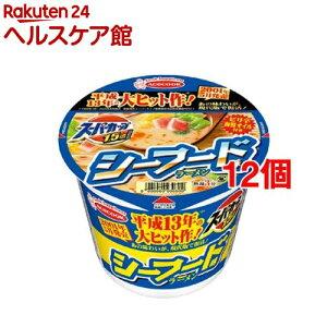 スーパーカップ 1.5倍 シーフード味ラーメン(12個セット)【スーパーカップ】