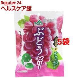 モントワール JA全農山形 ぶどうゼリー(22g*6個*5袋セット)