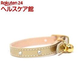 ペット用首輪 Sサイズ WO-050 ゴールド(1本入)