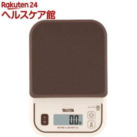タニタ デジタルクッキングスケール KJ-111S-BR(1コ入)【タニタ(TANITA)】