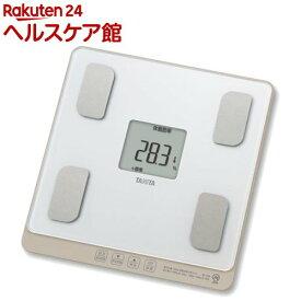 タニタ 体組成計 ホワイト BC-758-WH(1台)【タニタ(TANITA)】