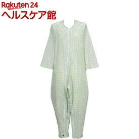 フドー ねまき 3型 スリーシーズン みどり格子 M(1枚入)【フドー】