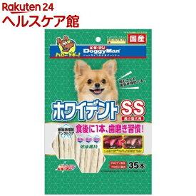 ドギーマン ホワイデントスティック SS(35本入)【1909_pf03】【ドギーマン(Doggy Man)】
